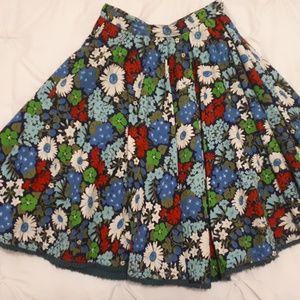 Dresses & Skirts - Vintage Floral Circle skirt